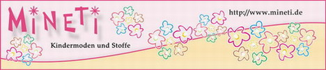 Mineti - Kinderstoffe von Hilco und Kindermode